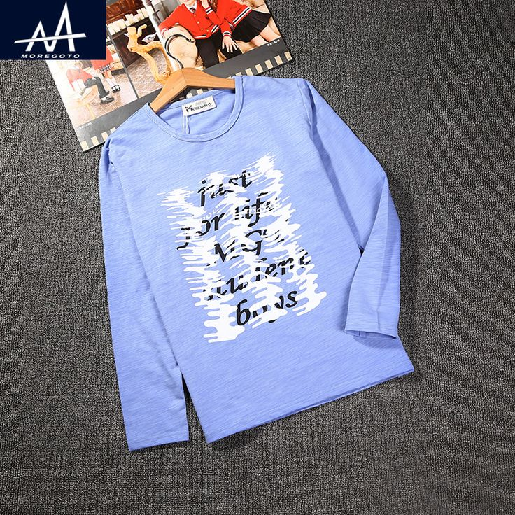 Fashion Brand Children Long Sleeve t Shirt Cotton Kids t shirt Printed Casual Letters 9-12 Years Loose Full Sleeves Tee for Boys