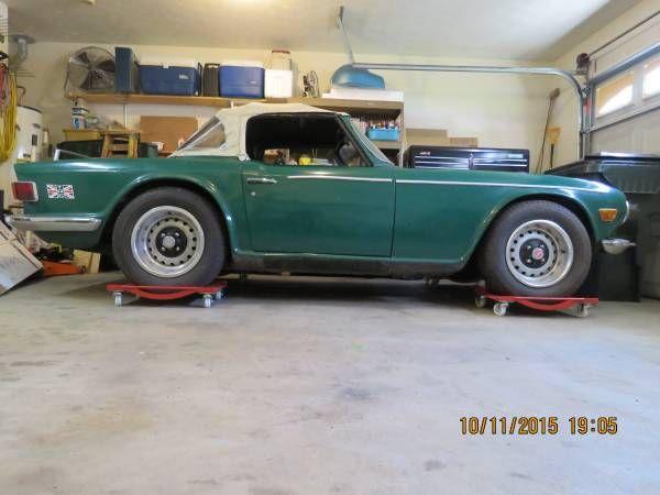 1969 Triumph TR-6 for restoration - $1,800 Gallatin, TN # ...