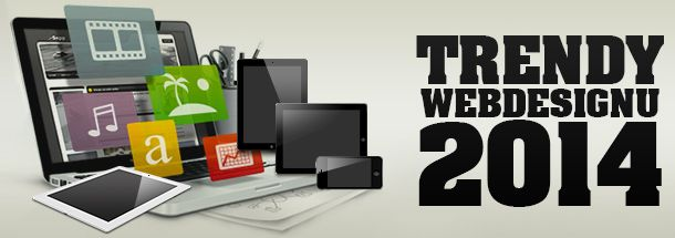 Koncem roku starého a začátkem toho nového, je vždy publikováno mnoho článků, s více či méně reálným odhadem vývoje budoucích trendů v oblasti tvorby webových stránek a webdesignu obecně. V následujícím článku naleznete popis pěti hlavních trendů, které jsou sestaveny s ohledem na současný vývoj a směřování v této oblasti.  http://www.ondesign.cz/blog/hlavni-trendy-webdesignu-pro-rok-2014.html