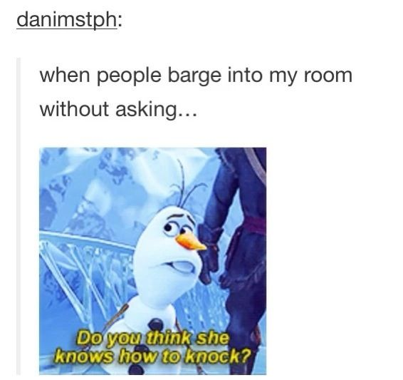 Tumblr Frozen- funny and relatable