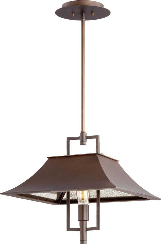 Buy The Quorum International Oiled Bronze Direct Shop For Vanguard 1 Light Lantern Pendant And Save