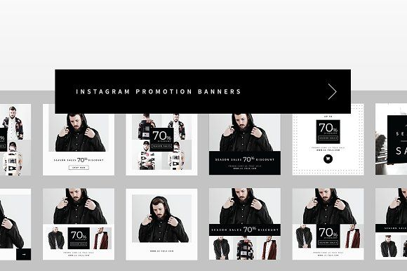 Instagram Promotion Banners by BOXKAYU on @creativemarket