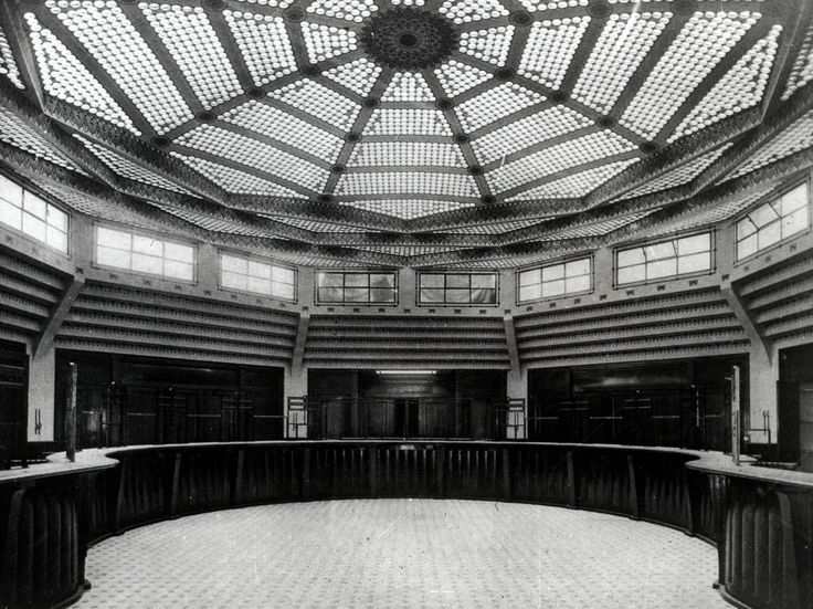 Inside the Post Office on Rue Bergere, Paris