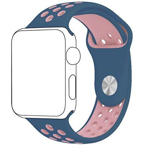 Watch Band Durable Silicone Apple iWatch Strap 42mm Series 2 1 Easy Install New #WatchBandiWatchStrap