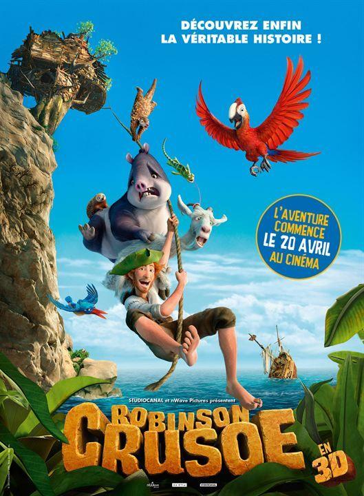 Robinson Crusoe, film d'animation tous publics de Vincent Kesteloot