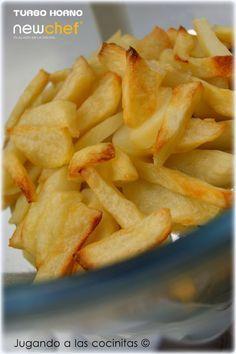 Jugando a las cocinitas: Patatas fritas al horno (Turbo horno convección)