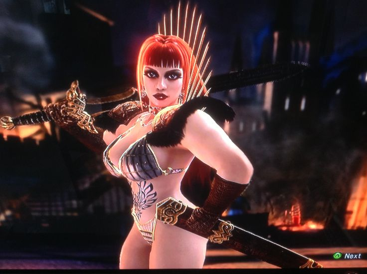 Soul Calibur V Red Sonja Created 1-2