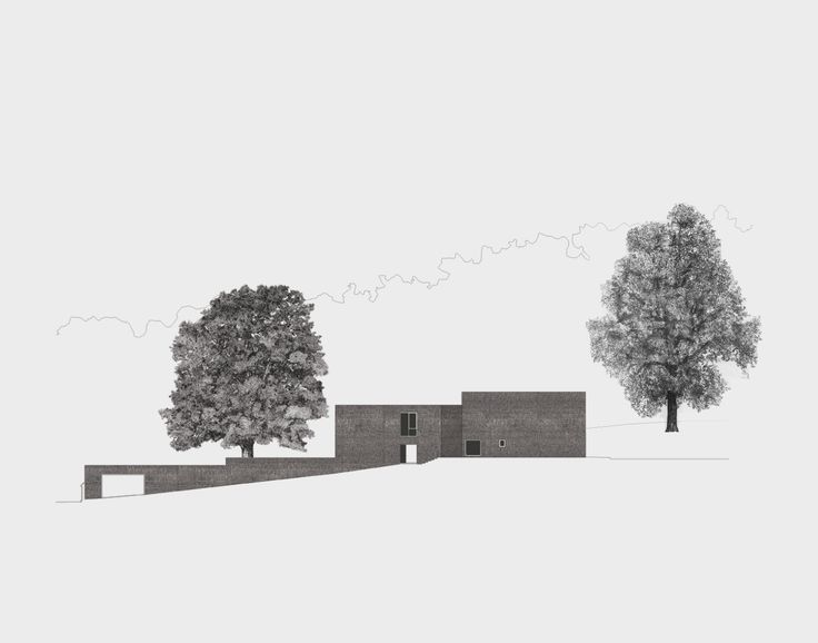 Brick Leaf House by Jonathan Woolf Architects