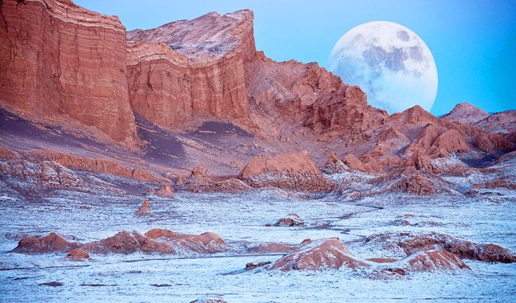 Valle de la luna, Moon Valley, Chile