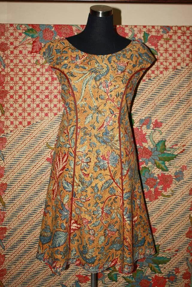 Dress batik 3N - Batik - Tenun Indonesia / Kebaya