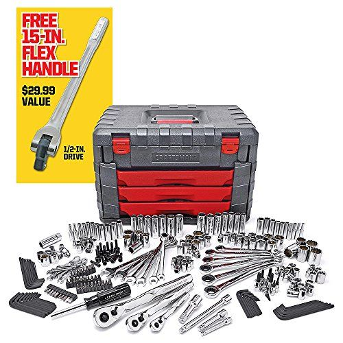 Craftsman Tool Set 254 pcs Mechanics Tool Set with 75Tooth Ratcheting ORIGINAL ..#from-by#_alphaprice10 ket241191936727431...
