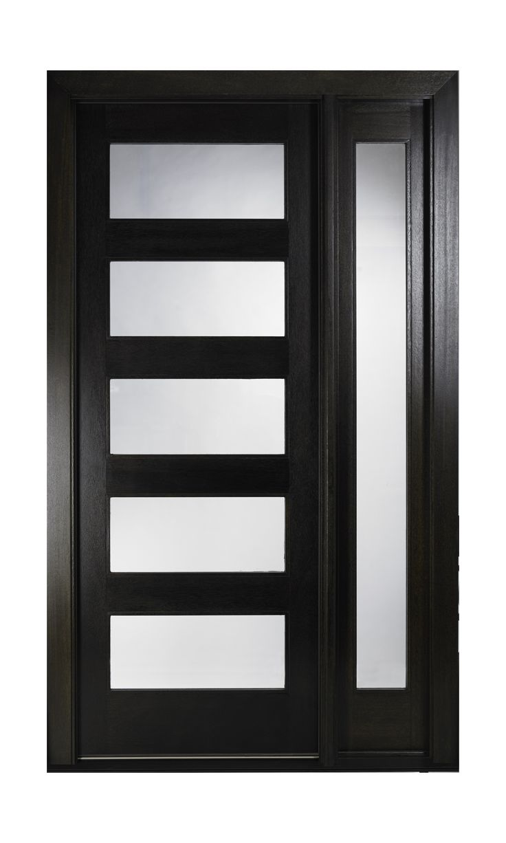 Pella's NEW contemporary front door design. For more information visit www.PellaNorCal.com