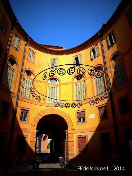 Rotonda Foschini di Ferrara all'interno del teatro Comunale