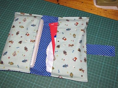 And so, I sew: Nappy/Diaper Wallet Tutorial
