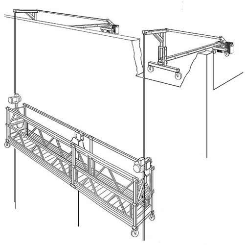Suspended Scaffolding - mainly used for #paintings , #repair works. #Home #Office Renovation
