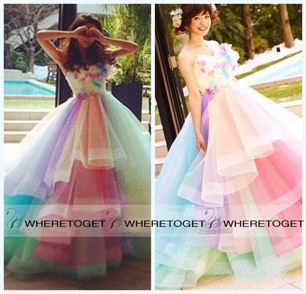 I found some amazing stuff, open it to learn more! Don't wait:https://m.dhgate.com/product/2015-colorful-rainbow-prom-dresses-a-line/230372446.html