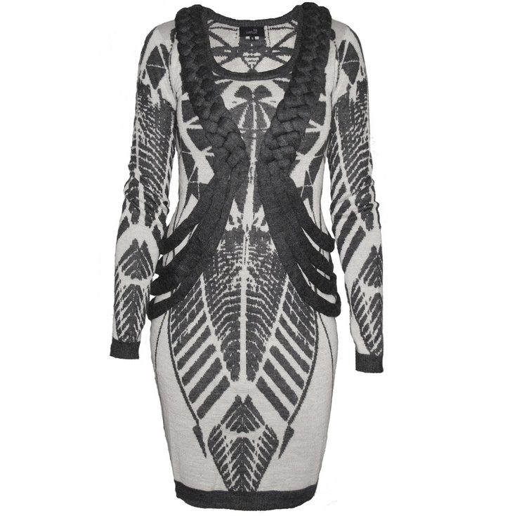 Stine Ladefoged - Jacquard Longsleeve Dress 89