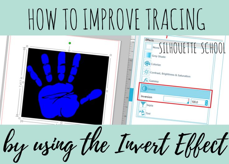 Trick for Tracing Hard to Trace Images in Silhouette Studio                                                                                                                                                                                 More