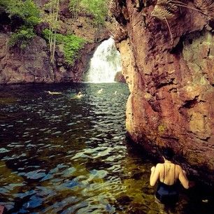 Waterfall pools, Litchfield National Park | 40 Uniquely Australian Experiences To Add To Your Bucket List