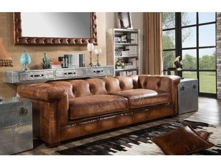 Sofa Darren Aus Echtleder In 2020 Sofa Quality Sofas 3 Seater