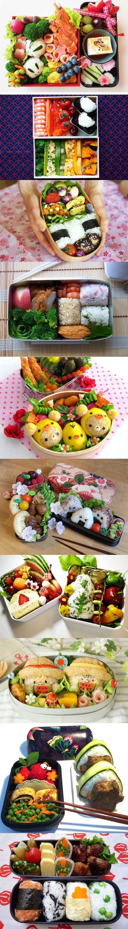 Bento 2012 Contest Top 10 finalists. Can you imagine the effort that goes into these?
