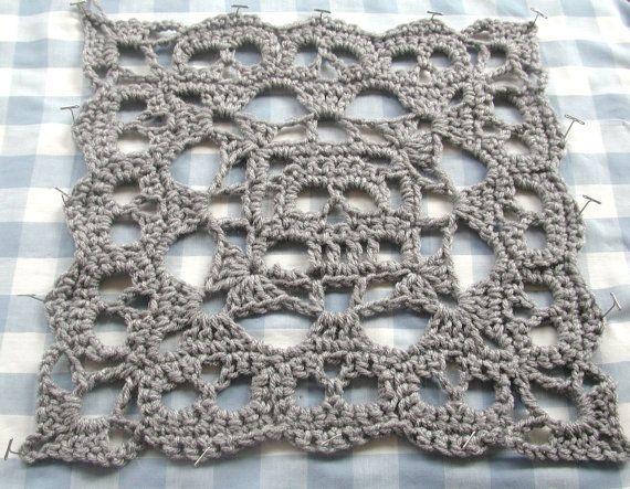 PDF  Creepy Granny  Skull Infinity Square No. 2  Crochet  Pattern