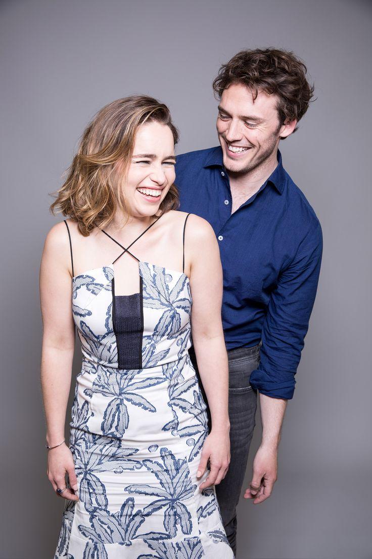 Emilia Clarke and Sam Claflin