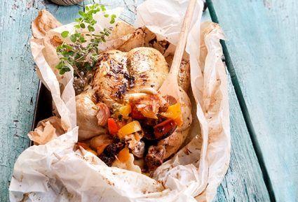 Κοτόπουλο κλέφτικο γεμιστό στη λαδόκολλα-featured_image