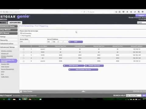How To SetUp Port Forwarding For IP camera - YouTube