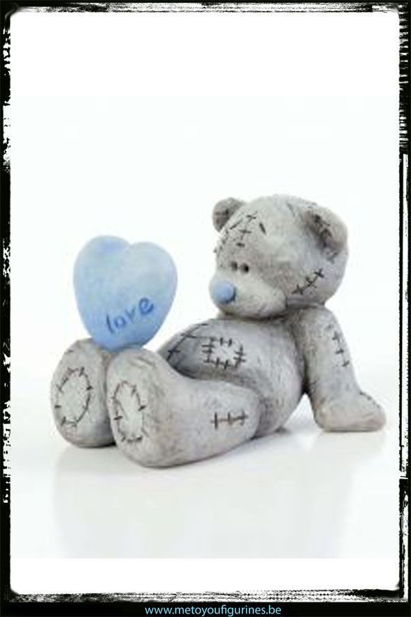 Me to You Tatty Teddy Collectable Sketchbook Figurine - Love in Dolls & Bears, Bears, Me To You | eBay