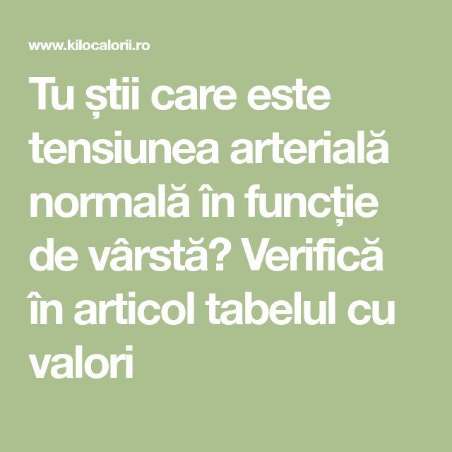 Tu știi care este tensiunea arterială normală în funcție de vârstă? Verifică în articol tabelul cu valori