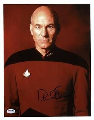 Patrick Stewart Star Trek Signed 11X14 Photo #W79839 - Psa/Dna Certifi @ niftywarehouse.com #NiftyWarehouse #StarTrek #Trekkie #Geek #Nerd #Products