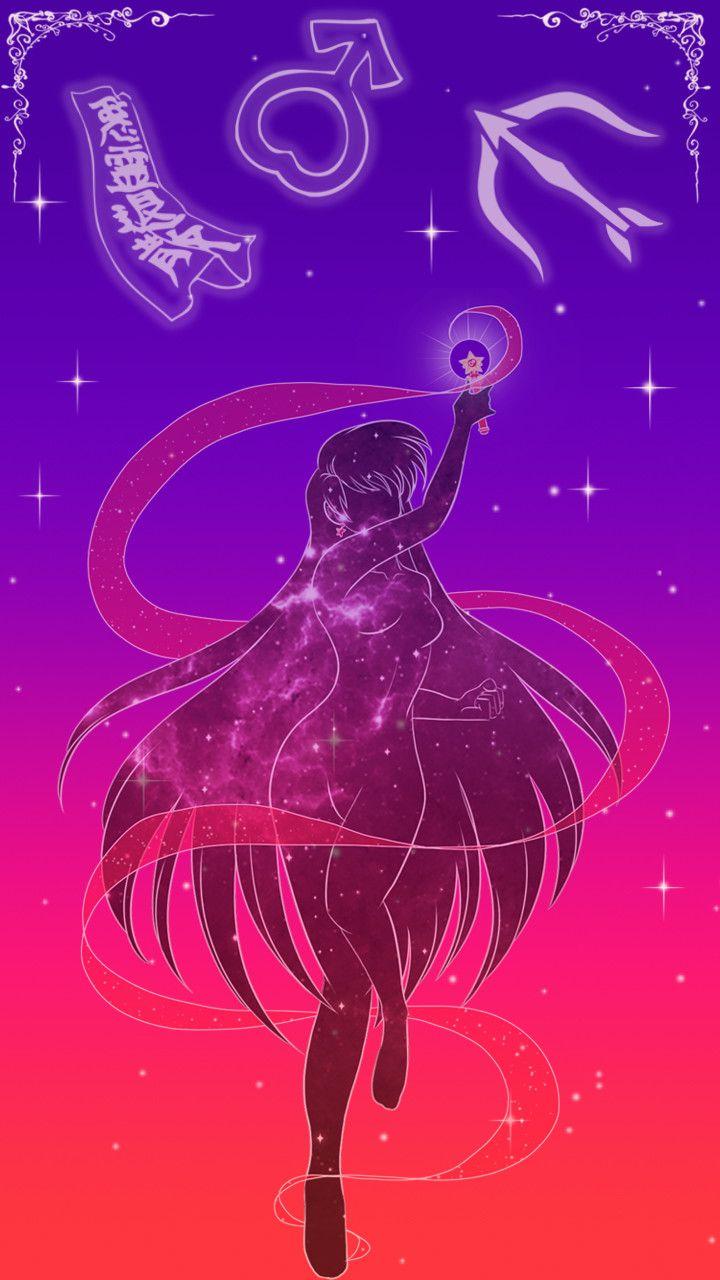 Sailor Mars lockscreen, Sarah Meadows on ArtStation at https://www.artstation.com/artwork/GLrZ1