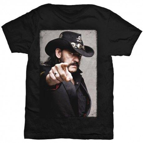 Tricou Lemmy: Pointing Photo