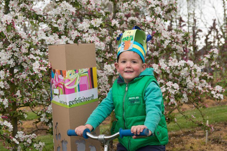 Met het geven van een appelboompje voor een verjaardag, geef je een blijvende herinnering.