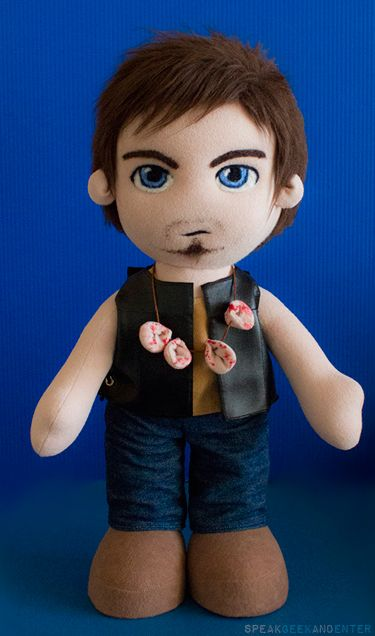 'The Walking Dead' Daryl Dixon plush! - Hahaha...the ears...