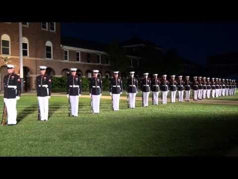 ▶ United States Marine Corps Silent Drill Platoon 2013 - YouTube