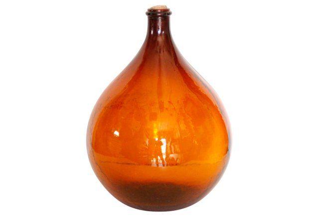 Amber Wine Demijohn