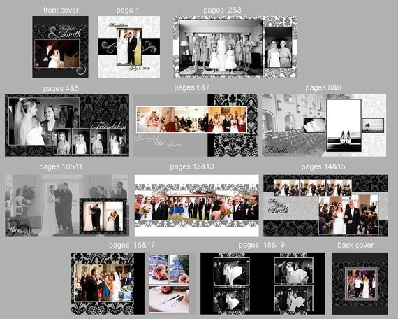 18 best Wedding book templates images on Pinterest | Wedding book ...