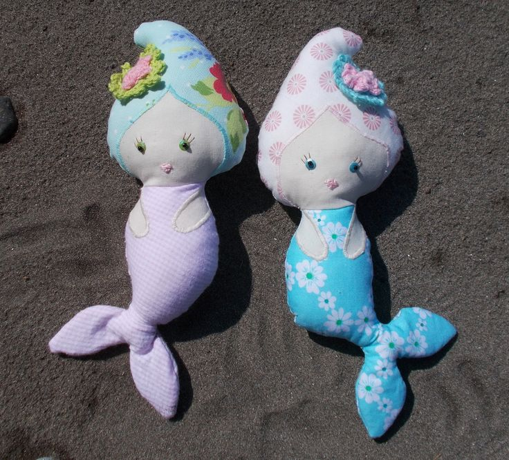 Mini Mermaid soft toy