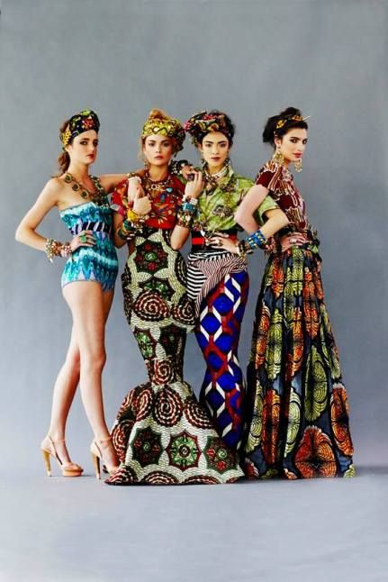 www.cewax.fr aime Lookbook Stella Jean 2013 par Settimio Benedusi | Pagnifik