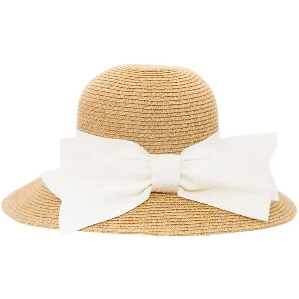 Huge Surprise Cheap Online Fake Summer Straw Hat With Embroiderd Brait And Pom Pom Detail - Cream Liquorish 9mRnHqSY