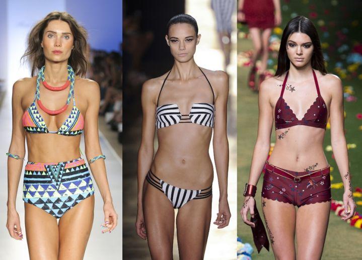 Bikini e costumi due pezzi Estate 2015: 45 modelli da comprare ora