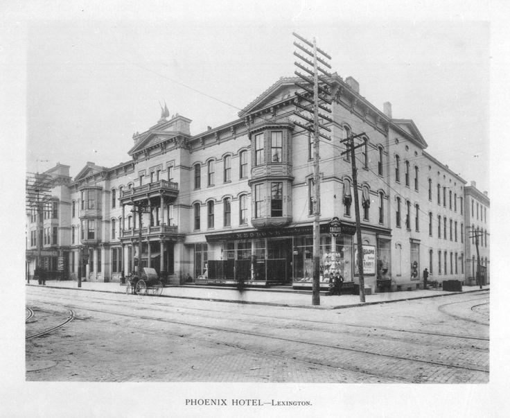 phoenix hotel lexington 1898 scenes from lexington. Black Bedroom Furniture Sets. Home Design Ideas