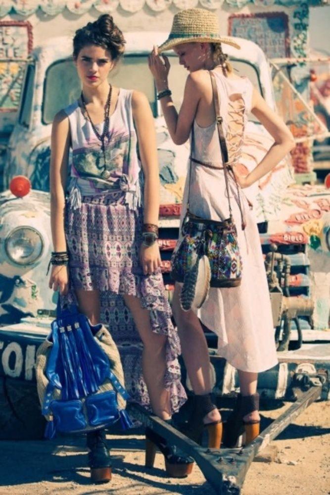 ☮ American Hippie Bohemian Style ~ Boho Festival Ready!