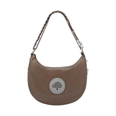 Mulberry Timeless Elegant Gifts - Daria Satchel in Taupe Spongy Pebbled