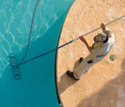 Find local contractors to clean or maintain a swimming for Local pool contractors