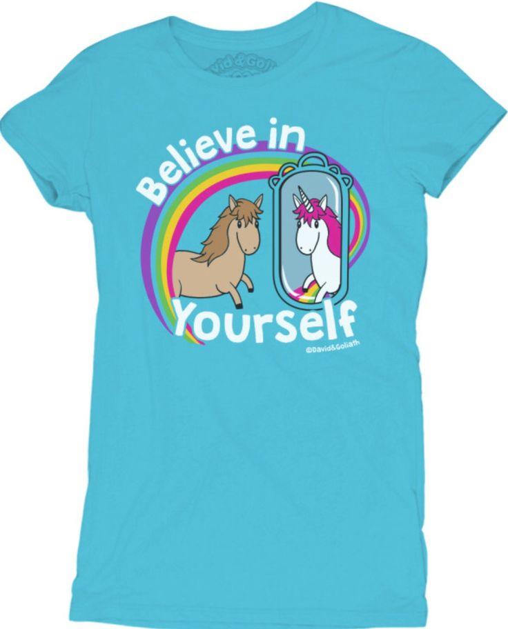 Believe In Yourself Unicorn Tee