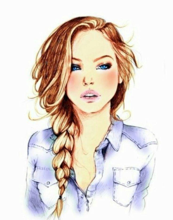 Resultado de imagen para caricaturas de chicas rudas