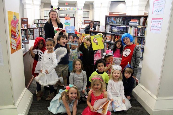 Celebrating Dr. Seuss' Birthday @ St. Monica Catholic School Preschool